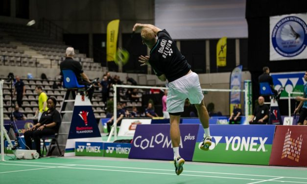 Nabeschouwing kwalificaties Yonex Belgian International
